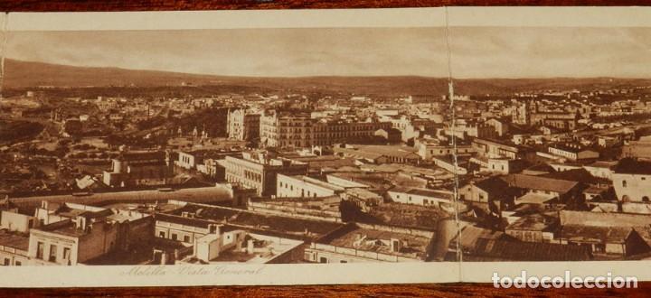 Postales: POSTAL QUINTUPLE PANORAMICA MELILLA: VISTA GENERAL (POSTAL EXPRES), SIN CIRCULAR, MIDE 70 X 9 CMS. E - Foto 4 - 133571850