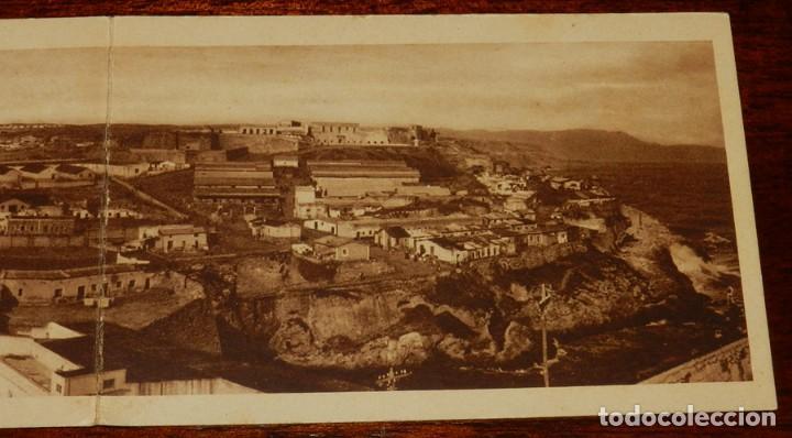 Postales: POSTAL QUINTUPLE PANORAMICA MELILLA: VISTA GENERAL (POSTAL EXPRES), SIN CIRCULAR, MIDE 70 X 9 CMS. E - Foto 6 - 133571850