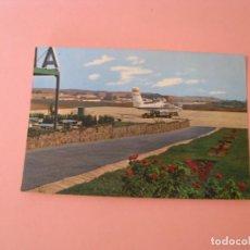 Postales: POSTALE DE MELILLA. AEROPUERTO. ED. BEASCOA. ESCRITA.. Lote 133584558