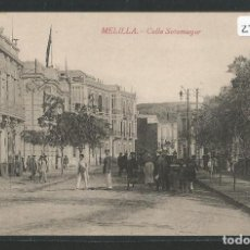 Postales: MELILLA - CALLE SOTOMAYOR - P27660. Lote 136595370