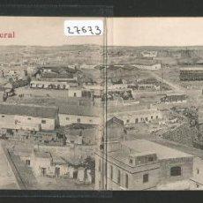 Postales: MELILLA - VISTA GENERAL - POSTAL CUADRÚPLE - P27673. Lote 136597858