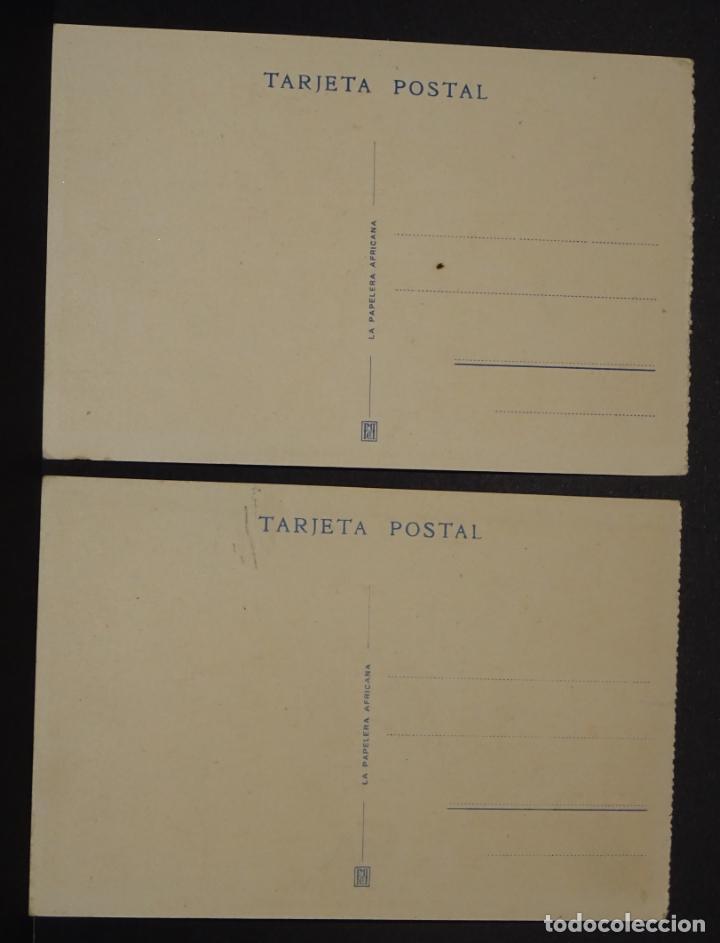 Postales: 2 postales de Melilla. Antiguas postales sin circular - Foto 2 - 137348982