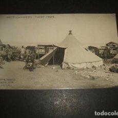 Postales: MELILLA GUERRA DE AFRICA CAMPAMENTO TURNIAT NORTE POSTAL FOTOGRAFICA BOIX HERMANOS 1914. Lote 138871066