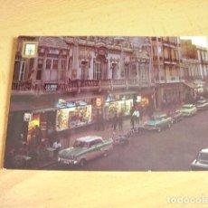 Cartoline: MELILLA -- ABVENIDA DEL GENERALISIMO NOCTURNA. Lote 139456866