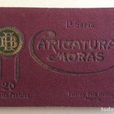 Postales: MELILLA- CARICATURAS MORAS- PRIMERA SERIE- ALBUM 20 TARJETAS- EDC. BOIX HERMANOS-. Lote 139550614