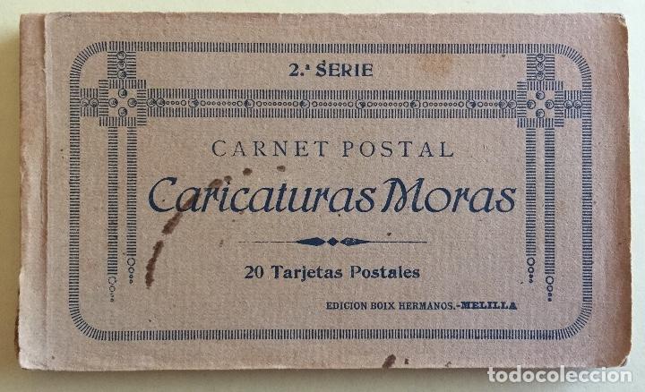 MELILLA- CARICATURAS MORAS- SEGUNDAS SERIE- ALBUM 20 POSTALES- EDC. BOIX HERMANOS (Postales - España - Melilla Antigua (hasta 1939))