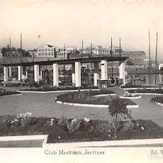 Postales: MELILLA.- CLUB MARÍTIMO.- JARDINES. Lote 140368594
