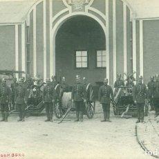 Postales: MELILLA PARQUE DE BOMBEROS FOTOGRÁFICA. HACIA 1910. POSTAL ÚNICA.. Lote 144320826
