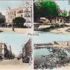 Postales: MELILLA, DIVERSAS VISTAS - EDICIONES RAFAEL BOIX - ESCRITA 1962. Lote 146273470