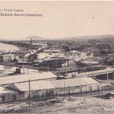 Postales: MELILLA - BARRIO INDUSTRIAL. Lote 146590862