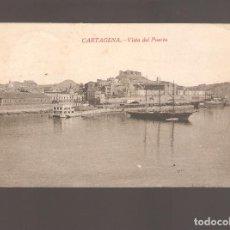 Postales: 1 POSTAL DE CARTAGENA VISTA DEL PUERTO. Lote 147009330