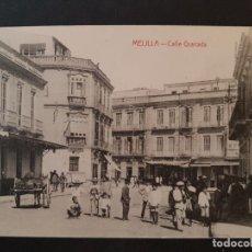 Postales: MELILLA CALLE GRANADA. Lote 147588010