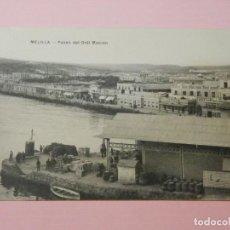 Postales: POSTAL ANTIGUA, MELILLA, PASEO DEL GRAL MACIAS, 1910, ESCRITA. Lote 147913738