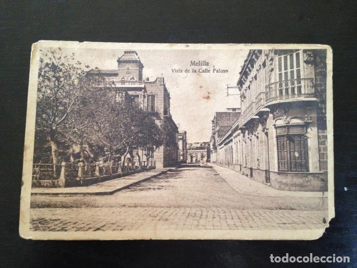 VISTA DE LA CALLE FALCON (Postales - España - Melilla Antigua (hasta 1939))
