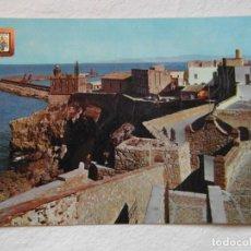 Postales: MELILLA Nº 47. FARO Y PUERTO DESDE BALUARTE DE LA CONCEPCION. ESCUDO DE ORO. 1968. CIRCULADA. Lote 151397650