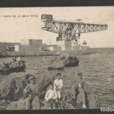 Postales: MELILLA-VISTA DE LA GRUA TITAN-16-EDICION RIF-POSTAL ANTIGUA-(57.100). Lote 151436414