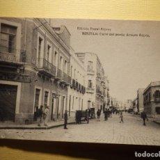 Postales: POSTAL - MELILLA - CALLE DEL POETA ARTURO REYES - HAUSER Y MENET - EDICIÓN POSTAL EXPRESS -. Lote 151460518