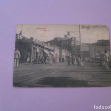 Postales: MELILLA. MURO X. FOTOTIPIA CASTAÑEIRA Y ALVAREZ. ESCRITA 1912.. Lote 153210450