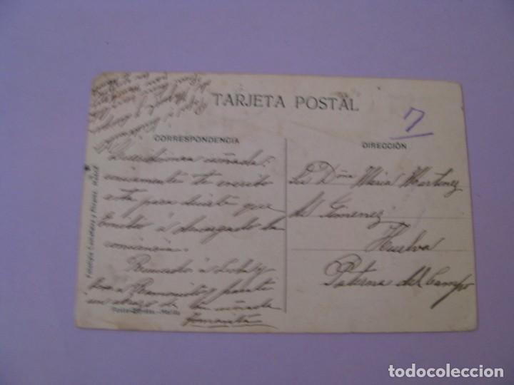 Postales: MELILLA. MURO X. FOTOTIPIA CASTAÑEIRA Y ALVAREZ. ESCRITA 1912. - Foto 2 - 153210450