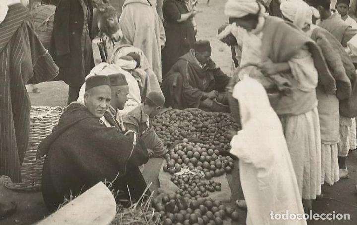 Postales: MELILLA-DETALLE MERCADO MORUNO-FOTOGRAFICA ROISIN-POSTAL ANTIGUA-(57.341) - Foto 2 - 153238802