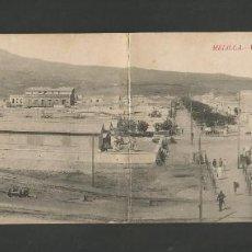 Postales: MELILLA-VISTA GENERAL BARRIO REAL-POSTAL DOBLE-ED·BOIX HNOS-(57.344). Lote 153239530