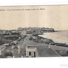 Cartes Postales: TARJETA POSTAL DE MELILLA - VISTA PANORAMICA DEL ANTIGUO PUEBLO DE MELILLA. LOMBARDIU Y BARREIRO. Lote 153916790