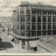 Postales: X121139 MELILLA CALLES ARTURO REYES Y CASTELAR HOTEL VICTORIA. Lote 153932062