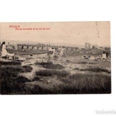 Postales: MELILLA.- MORAS LAVANDO EN EL RIO DE ORO. Lote 154665402