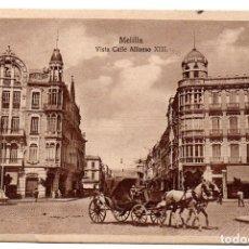 Postales: PS8113 MELILLA 'VISTA CALLE ALFONSO XIII'. ESPAÑA NUEVA. ESCRITA. 1922. Lote 155098734