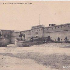 Postales: MELILLA - FUERTE DE CABRERIZAS ALTAS. Lote 155253490