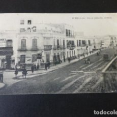 Postales: MELILLA CALLE GENERAL CHACEL. Lote 155502534