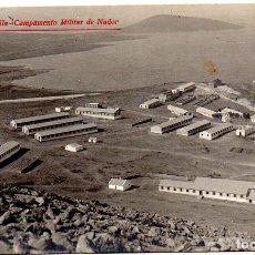 Postales: PS8127 MELILLA 'CAMPAMENTO MILITAR DE NADOR'. FOTOGRÁFICA. SIN CIRCULAR. PRINC. S. XX. Lote 155758290