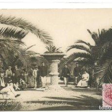 Postales: (PS-59862)POSTAL FOTOGRAFICA DE MELILLA-DETALLE DEL PARQUE HERNANDEZ. Lote 156174246
