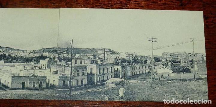 Postales: POSTAL TRIPLE DE MELILLA, VISTA GENERAL PANORAMICA, EXCLUSIVA CABRERA, NO CIRCULADA. - Foto 4 - 157662642