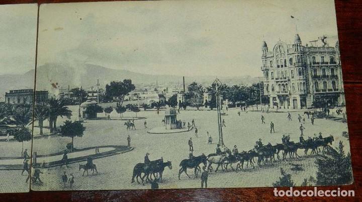 Postales: POSTAL DOBLE DE MELILLA, PLAZA DE ESPAÑA, EXCLUSIVA CABRERA, NO CIRCULADA. ESTAN SEPARADAS. - Foto 3 - 157663066