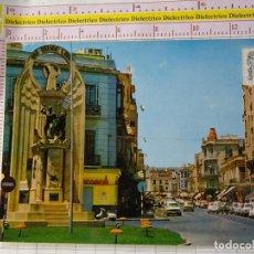 Cartes Postales: POSTAL DE MELILLA. AÑO 1973. MONUMENTO A LOS HEROES DE ESPAÑA AVENIDA GENERALÍSIMO. SEAT 600. 2203. Lote 159016098