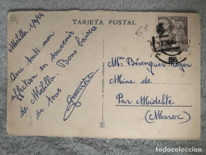 Postales: ANTIGUA POSTAL MELILLA PLAZA COMANDANTE BENÍTEZ 10 - Foto 2 - 160212226