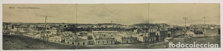 MELILLA. VISTA GENERAL PANORAMICA. (ED. EXCLUSIVA CABRERA) (Postales - España - Melilla Antigua (hasta 1939))
