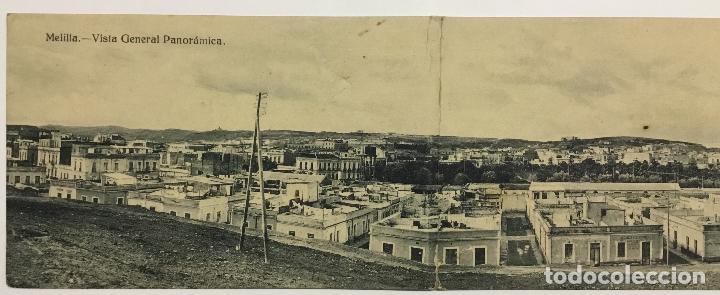 Postales: MELILLA. VISTA GENERAL PANORAMICA. (ED. EXCLUSIVA CABRERA) - Foto 2 - 160337502