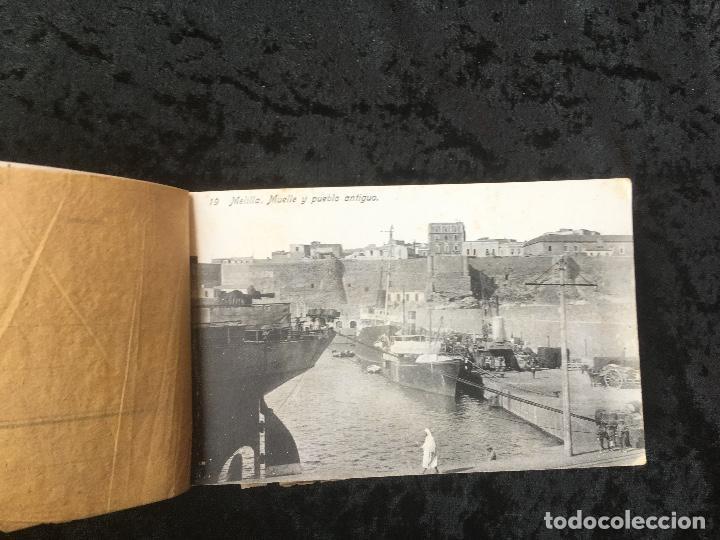 Postales: 20 TARJETAS POSTALES - RECUERDO DE MELILLA - IIª SERIE - BOIX HERMANOS - Foto 3 - 160690794