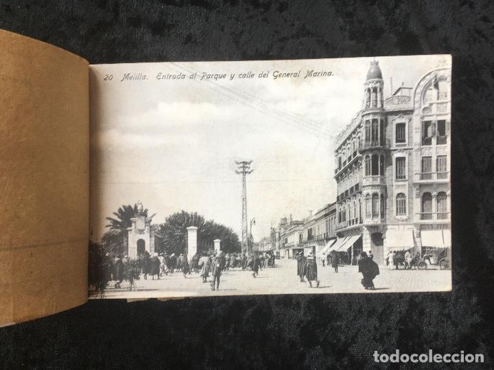 Postales: 20 TARJETAS POSTALES - RECUERDO DE MELILLA - IIª SERIE - BOIX HERMANOS - Foto 4 - 160690794