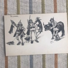 Postales: TARJETA POSTAL D.M.H ED JOSEFA BOTELLA - MELILLA - DE LA RAZZIA. Lote 160715129