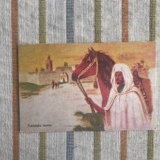 Postales: TARJETA POSTAL MULLOR BOIX HERMANOS - MELILLA - FANTASÍA MORA. Lote 160717189