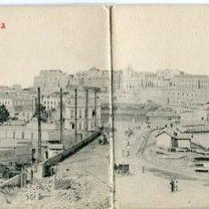 Postales: MELILLA-VISTA PANORÁMICA-TRÍPTICO-CASTAÑEIRA. Lote 166038486
