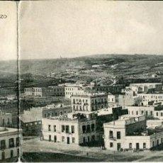Postales: MELILLA-VISTA PANORÁMICA DESDE EL FUERTE SAN LORENZO-CUADRUPLE-HAUSER. Lote 166127030