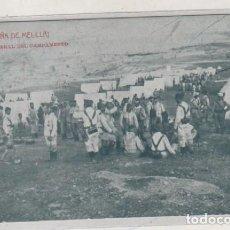 Postales: Nº 1 CAMPAÑA DE MELILLA VISTA GENERAL DEL CAMPAMENTO. THOMAS FOTOGRAFÍA ABC. Lote 166148654