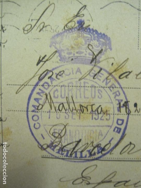 Postales: MELILLA-SELLO TAMPON COMANDANCIA GENERAL DE MELILLA-VER FOTOS-(60.432) - Foto 3 - 168201216