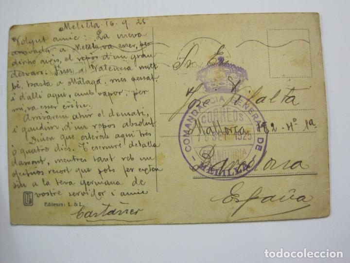 Postales: MELILLA-SELLO TAMPON COMANDANCIA GENERAL DE MELILLA-VER FOTOS-(60.432) - Foto 4 - 168201216