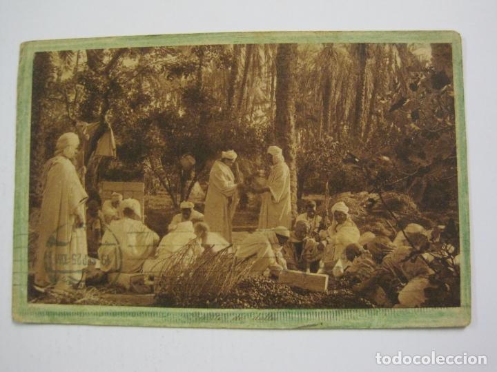 MELILLA-SELLO TAMPON COMANDANCIA GENERAL DE MELILLA-VER FOTOS-(60.432) (Postales - España - Melilla Antigua (hasta 1939))