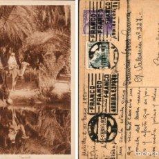 Postales: POSTAL DE MELILLA 256 REFLETS, CIRCULADA EN 1950, EDITEURS L. & L. Lote 168335276
